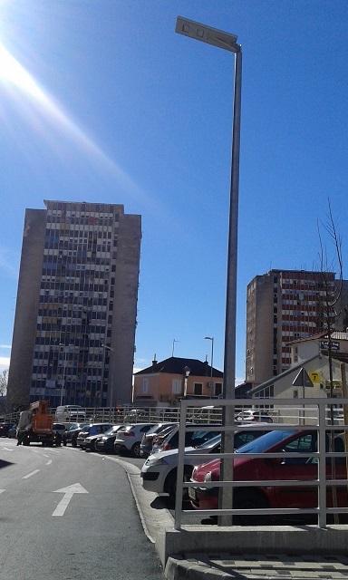 Solarna javna rasvjeta Šibenik